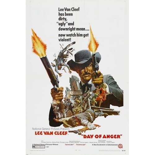 Amazon.com: DAY OF ANGER spaghetti western MOVIE poster
