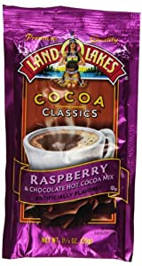 Land O Lakes Cocoa Classics, Chocolate & Raspberry, 1.25-Ounce Packets (Pack of  36)