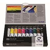 VanGogh Oil Paints, Basic Set of 10 20ml Tubes