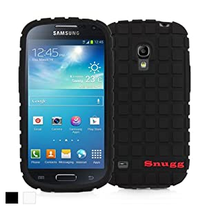 Snugg Galaxy S4 Mini Silicone Case in Black - Non-Slip Material, Protective Lightweight Case for Samsung Galaxy S4 Mini
