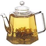 GROSCHE VIENNA Hand Blown Glass Infuser Teapot 1250ml 42 fl. oz