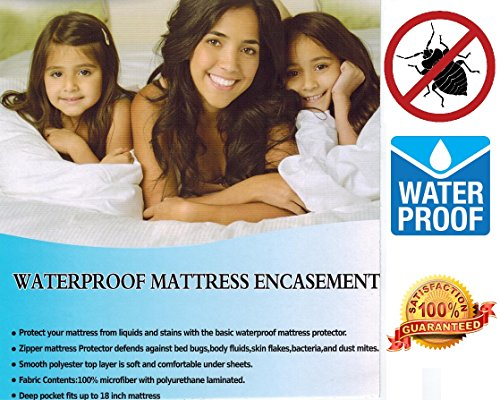 Discover Bargain HLC.ME Waterproof / Bed Bug Proof Mattress Encasement (Queen)