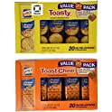 40 Ct. Lance Toasty and Toastchee Sandwich Crackers