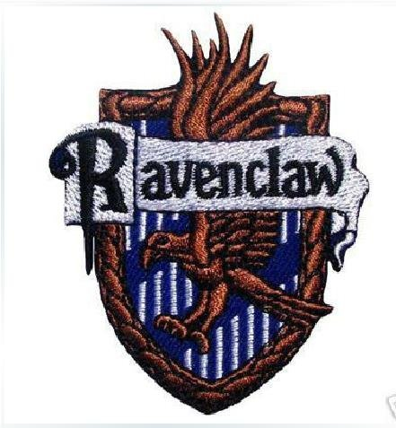 Harry Potter School Crest Gryffindor Hufflepuff Slytherin Ravenclaw Iron On Sew On Applique Embroidered Patch Badge Large Size (Ravenclaw) by BuyCo
