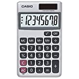 Casio SL-300SV Solar Powered Standard Function Calculator