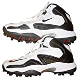 Nike 455916108 Merciless Pro Shark Men's Football Cleats (White/Black)