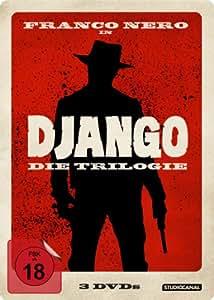 Django: Die Trilogie (Django / Djangos Rückkehr / Django, der Rächer) (Steelbook) [3 DVDs]
