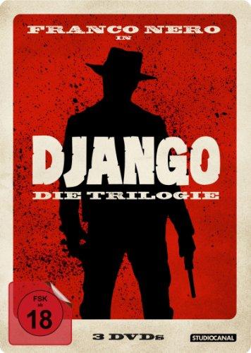 Django - Die Trilogie (Steelbook, 3 Discs)