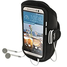 buy Igadgitz Water Resistant Black Sports Jogging Gym Armband For Htc One M9 (2015)