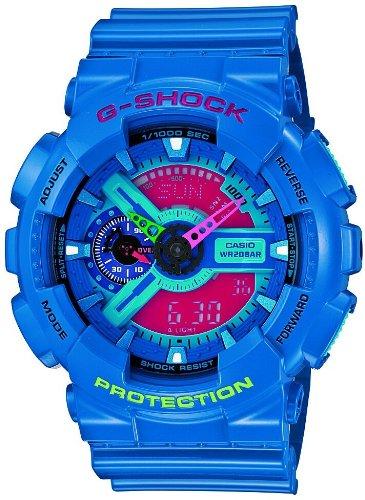 [カシオ]CASIO 腕時計 G-SHOCK ジーショック Hyper Colors GA-110HC-2AJF メンズ