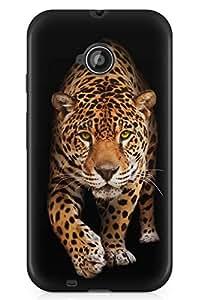 GeekCases Cheetah Back Case for Motorola Moto E (2nd Gen)
