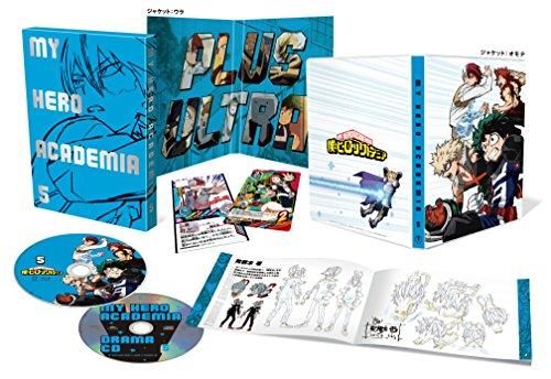 【Amazon.co.jp限定】僕のヒーローアカデミア Vol.5(初回生産限定版)(各巻購入特典:場面写ブロマイド付)(全巻購入特典:「描き下ろし全巻収納BOX」引換シリアルコード付) [Blu-ray]