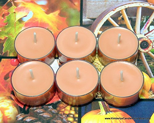 Autumn Spice PURE SOY Tea Light Candles (Candle Warmers Non Electric compare prices)