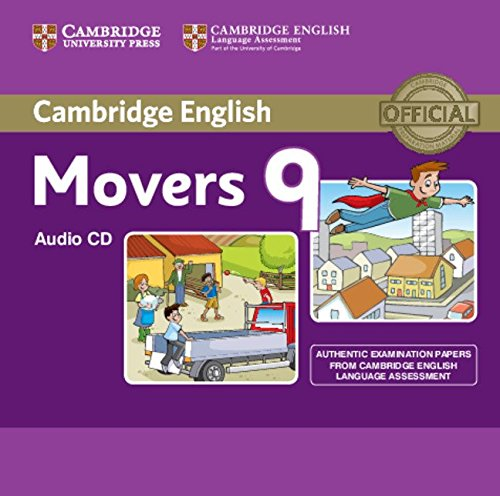 Cambridge English Young Learners 9 Movers Audio CD