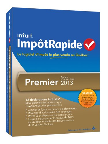 INTUIT IMPOTRAPIDE PREMIER TY13 [OLD VERSION]