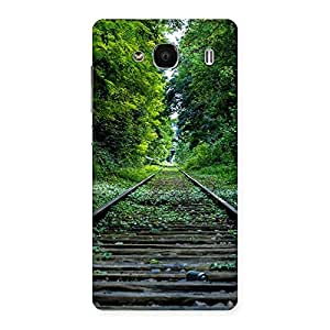 Beautiful Track Green Back Case Cover for Redmi 2