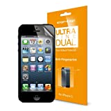 SPIGEN SGP iPhone 5 Screen Protector Anti Glare Steinheil [Ultra Fine Dual] Anti Glare Front and Back Protector [1-SET]