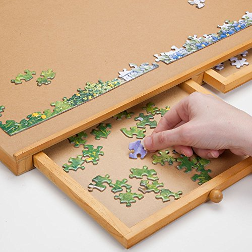 Bits And Pieces Standard Size Wooden Puzzle Plateau
