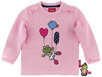 Sigikid Sweatshirt, Mini 142205 Pull  Fille - Rose - Rosa (pink) - FR : 6 ans (Taille fabricant : 116)