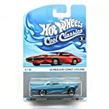 '65 MERCURY COMET CYCLONE (BLUE) * 5 of 30 * Hot Wheels Spectrafrost 2013 Cool Classics Die-Cast Vehicle