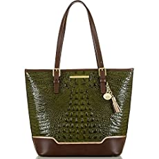 Asher Tote<br>Chive Tri-Texture