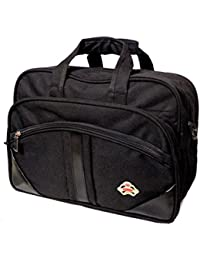 AYS Stylish Black Colour Travel Duffel Office Bag With Laptop Compartment