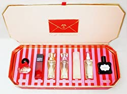 Victoria's Secret Fragrance Perfume SET - Sexy Little Things, Ooh La La, Very Sexy, Dream Angels Heavenly, Dream Angels Desire, Body By Victoria and Pink - 7 Pcs Eau De Parfum Gift Box