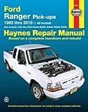 Eric Jorgensen Ford Ranger Pick Ups Service and Repair Manual: 93-10 (Haynes Automotive Repair Manuals)