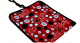 BABY TRAVEL CHANGING MAT MADE OF WATERPROOFSOFT MATERIAL 78x34 Red Cats