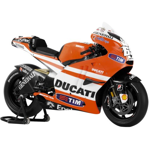 New Ray Ducati MotoGP Nicky Hayden Replica Motorcycle Toy - 1:12 Scale
