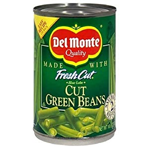 Del Monte Cut Green Beans - 12/14.5 oz. cans
