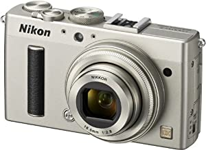 Nikon COOLPIX A Compact Digital Camera - Silver (16MP, 1x Optical Zoom) 3 inch LCD