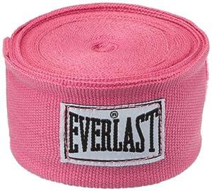 Everlast bandages flexibles 304cm coton et spandex Rose