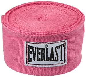 Everlast bandages flexibles 304cm coton et spandex Rose