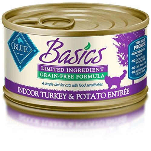 Blue Buffalo Basics Sensitive Solution Grain-Free Turkey & P