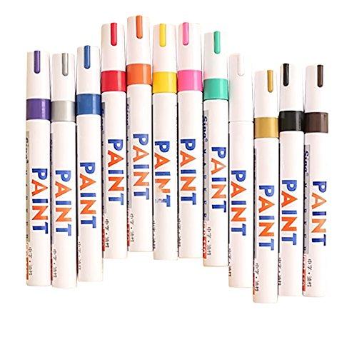 gosear-12-piezas-impermeable-color-base-sorteo-arte-pintura-marcador-pluma-firma-set-de-aceite-perma