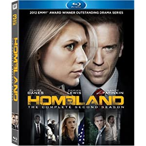Homeland: The Complete Second Season Blu-ray Sous-titres français