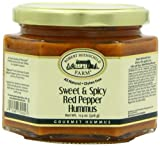 Robert Rothschild Farms Sweet and Spicy Red Pepper Hummus (Pack of 2)