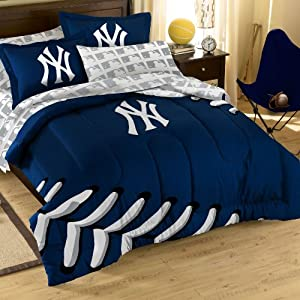 New York Yankees NY Bed in a Bag Comforter Set by Northwest
