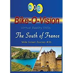 Bike-O-Vision Cycling Journey- The South of France (BLU RAY#26) [Blu-ray]