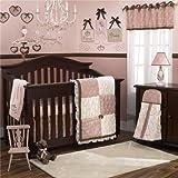 CoCaLo Daniella 8 Piece Crib Bedding Set, Pink