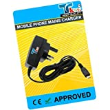 TK9K[TM] - MOBILE PHONE MAINS HOUSE BATTERY CHARGER FOR MOTOROLA ONLY FOR RAZR V3 UK Spec 3 Pin Charger for NI-MH, LI-ION & LI-POL Batteries. - Rapid charge. - 12 Months Warranty - CE approved - Lightweight - Multi input voltage capability (240v, 50/60Hz