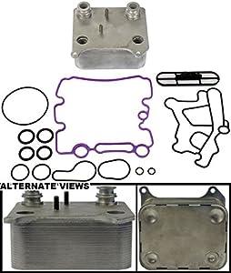 APDTY 015339 Engine Oil Cooler Kit 2003-2010 Ford 6.0L Diesel (3C3Z6A642CA)