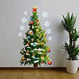Bestpriceam Christmas Tree Wall Sticker Vinyl Removable Home Wall Decor 45*82cm