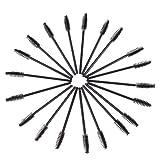 100x Wimpernbürste Wimpernkamm Eyelash Brush Mascara Make Up Kosmetik