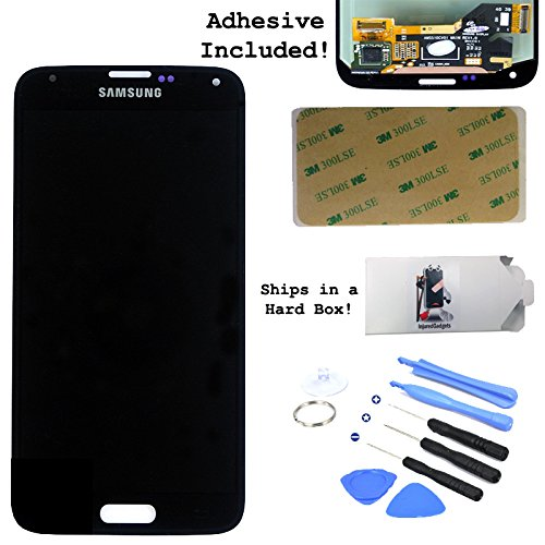 Lcd Display Touch Screen Glass Panel Digitizer Assembly Repair Part For Samsung Galaxy S5 Charcoal Black I9600 G900A G900T G900V G900P
