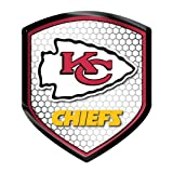Kansas City Chiefs NFL Reflector Decal Auto Shield for Car Truck Mailbox Locker Sticker Football Licensed Team Logo at Amazon.com