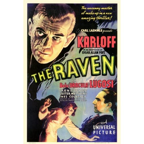 Amazon.com: The Raven (1935) 27 x 40 Movie Poster Style A