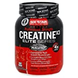 Six Star Pro Nutrition Creatine X3, Professional Strength, Fruit Punch 2.5 lb (1.13 kg)