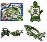 日本未発売品 レア AIR HOGS Thunderbird 2号 ラジコン ヘリコプター イギリス 輸入品 オフィシャル サンダーバード Thunderbirds are go 8歳? インターナショナルレスキュー [並行輸入品]